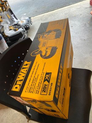 "Photo DEWALT 5""(127mm) DEEP CUT BAND SAW BATTERY CHARGER 20v XR BRUSHLESS 🔥 LITHIUM."