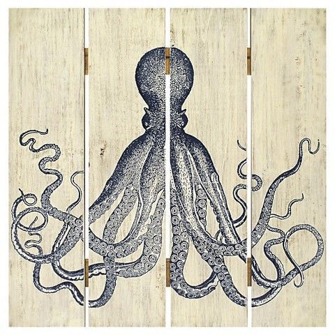 Octopus Wall Art On Wood For Sale In Lynwood Ca Offerup
