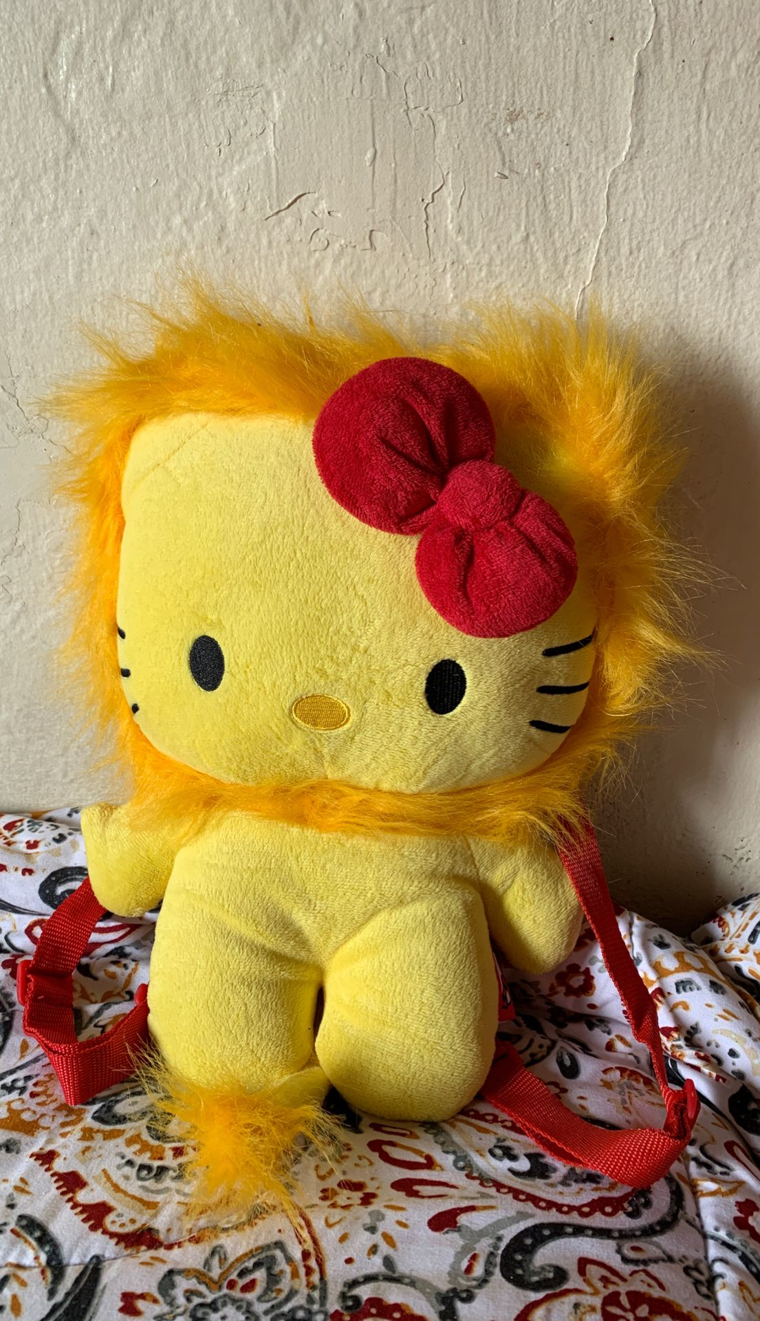 Lion kitty backpack