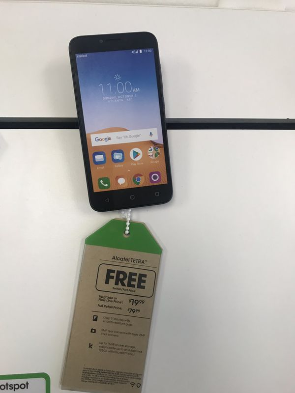 FREE Alcatel Tetra FREE for Sale in Saint Petersburg, FL