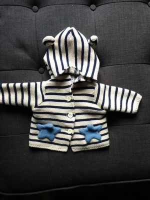 Photo Girl or Boy Baby infant knit sweater from Gap , 0-3 months