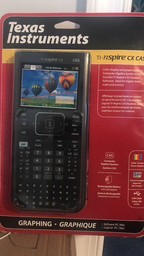 Ti nspire cx cas calculator for Sale in Herndon, VA - OfferUp