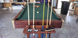 8ft Pool Table Wooden for Sale in Charles Town, WV