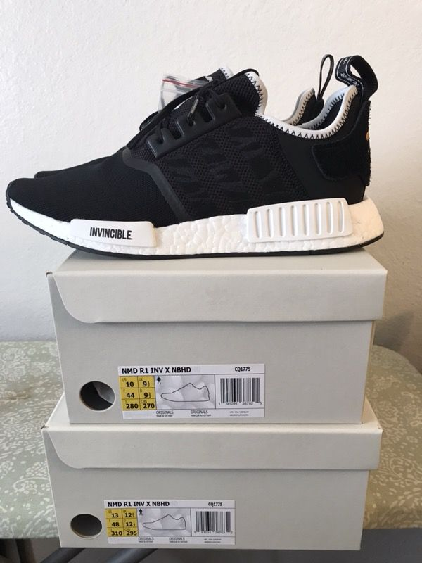 new arrival 2b697 d5db2 Adidas nmd R1 invincible x neighborhood sz. 10 deadstock for Sale in Garden  Grove, CA - OfferUp
