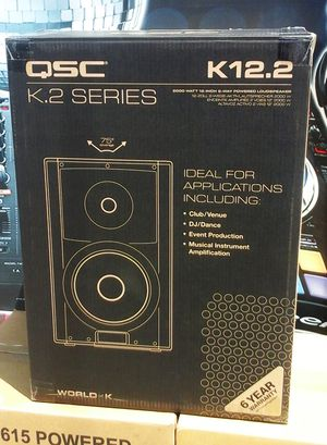 "Qsc K12.2 Series 2000watts 12"" Inch PA Powered Speaker Monitor 3 Channel 6 Year Warranty K12.2 🚨 90 Day Payment Plan for Sale in Los Angeles, CA"