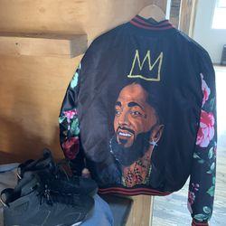 Nipsey Hustle Crenshaw Jacket Thumbnail