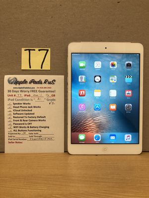 T7 - iPad mini 1 16GB Cell-VZ for Sale in Los Angeles, CA