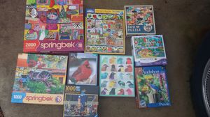 Puzzles and games. 5$ for all for Sale in Springfield, VA
