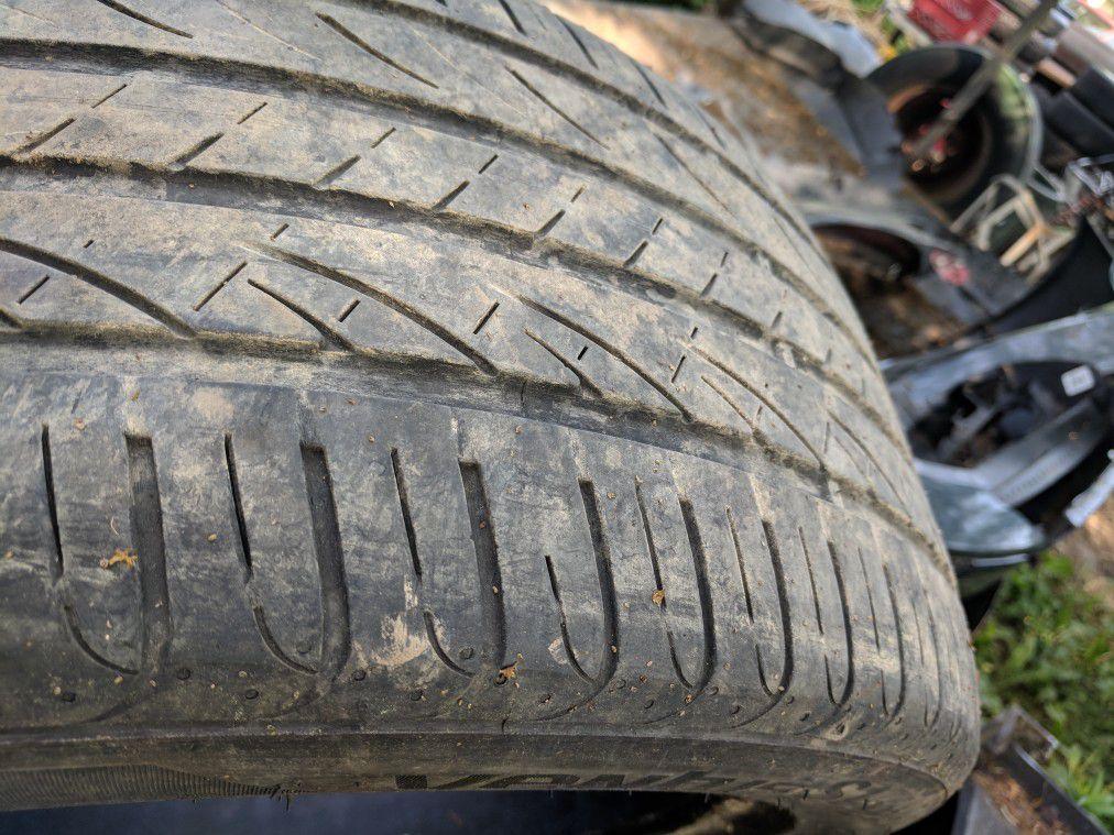 "Hankook 235 45 17 tire 5/32"" 2014"