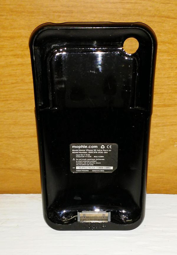 buy popular 6f39a 6ffa6 mophie juice pack air for iPhone 3G & 3G S (Black) for Sale in Marion, TX -  OfferUp