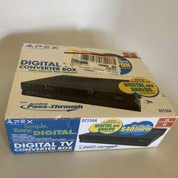 Apex digital TV converter box  Thumbnail