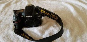 Nikon D800 with battery grip, 50mm 1.8 portrait lens for sale  Miramar, FL