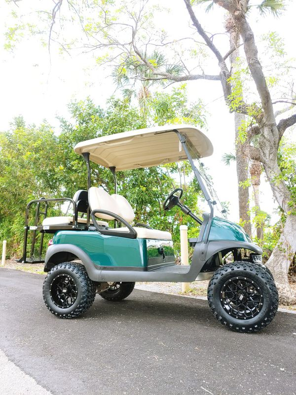 Club car precedent 2015/2019 lifted golf cart for Sale in Deerfield Beach,  FL - OfferUp