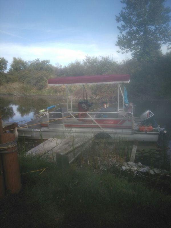 1988 landau pontoon boat 24