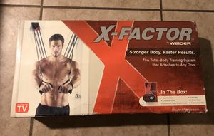 Photo X factor exercise equipment