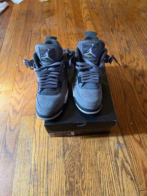 Photo Jordan 4 retro cool grey size 8.5