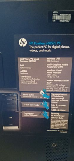 HP Pavilion Desktop, Windows 10 and Ubuntu OS installed!!!! Must see!! Thumbnail