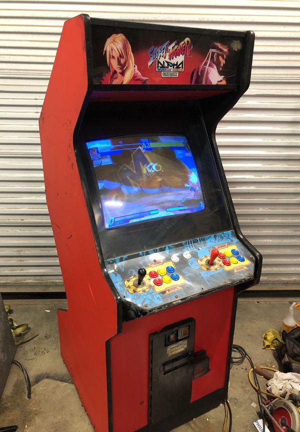 Capcom Street Fighter Alpha Arcade Game For Sale In Lodi Ca Offerup