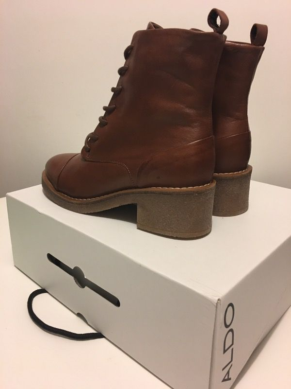 Brand New Women S Aldo Pietralta Brown Boots Size 7 Clothing Shoes In Brooklyn Ny Offerup