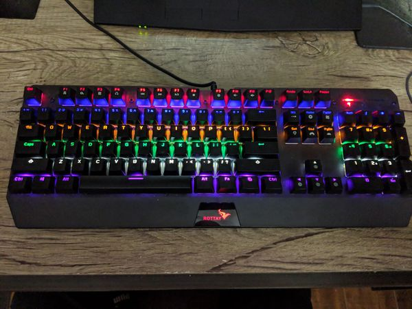 d8f7fc1feba Rottay Mechanical Keyboard Brown Switches for Sale in Westminster ...