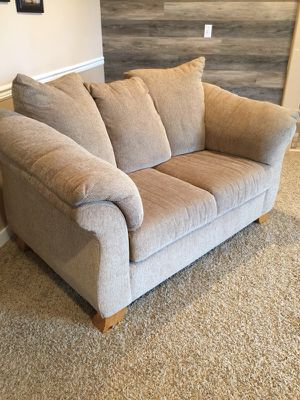 Beige Fabric Sofa And Love Seat For In Tacoma Wa