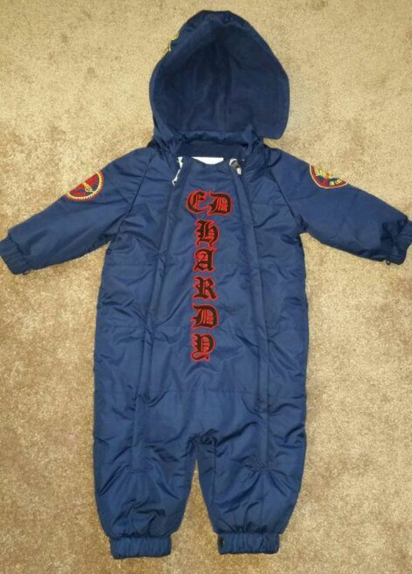 8b255648b162 Ed hardy winter snowsuit 18-24 month for Sale in Aurora