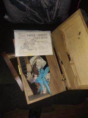 Photo Shoe shine box