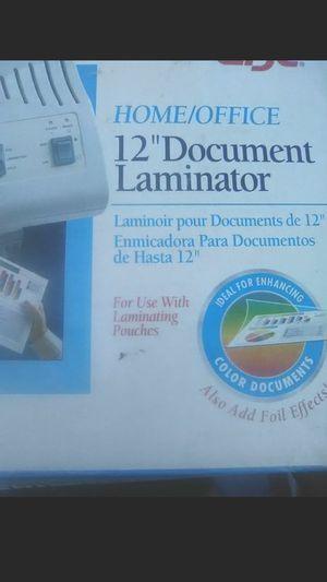 Document Laminator for Sale in Redding, CA