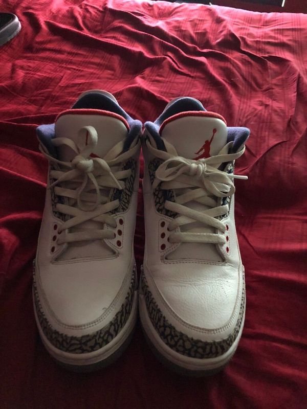 e550773dcdf02 True Blue 3s (Jordans) Size 10.5 for Sale in Norfolk