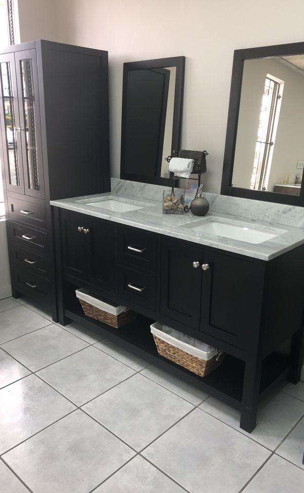 "BATHROOM VANITY 60"" double sink for Sale in Miami, FL ..."