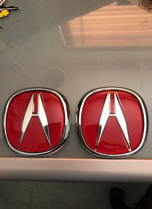 Acura Emblem Auto Parts In Norwalk CA OfferUp - Red acura emblem