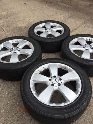mercedes benz rims set 19 inch 5x112 wheels for Sale in Manassas, VA