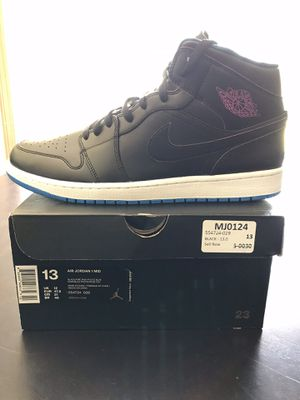 a8478efcda1574 Nike Air Jordan Retro 1 - Black - Size 13 for Sale in Springdale