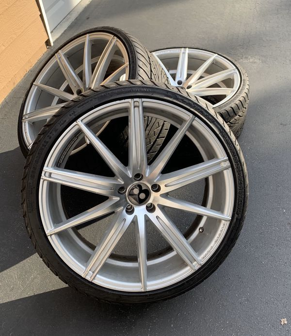 22 Inch Wheels And Tires For Sale In San Jose, CA