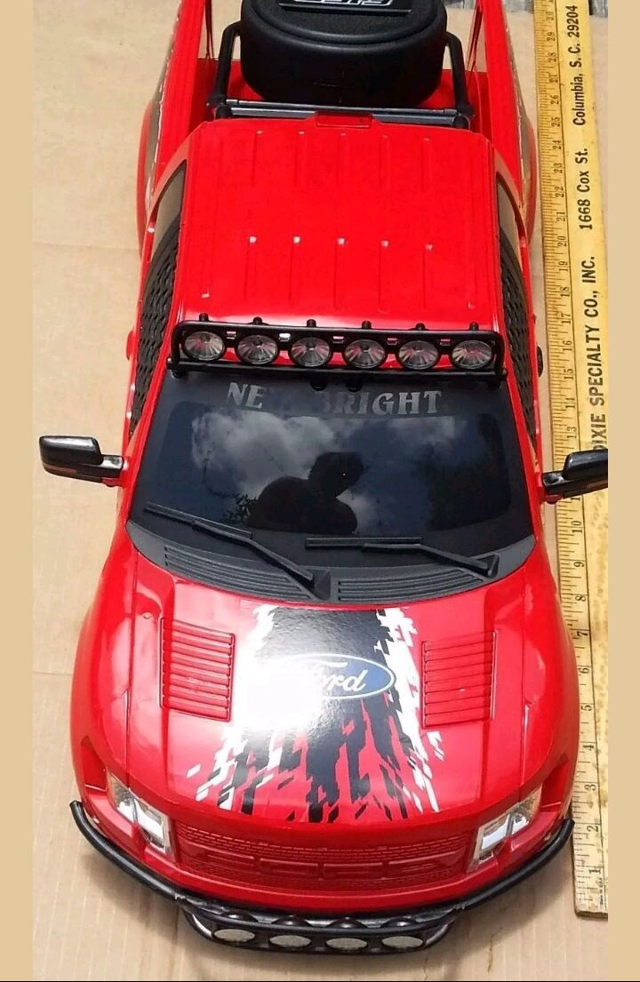 1/6 scale ford raptor body shell