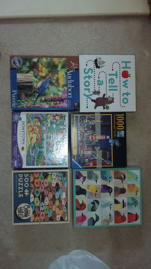 All Puzzles and Games for 5$ for Sale in Springfield, VA