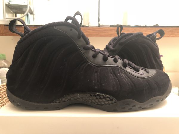 f8ed1736712 Nike Foamposite One Triple Black Anthracite Black Out In Box Size 11 100%  Authentic