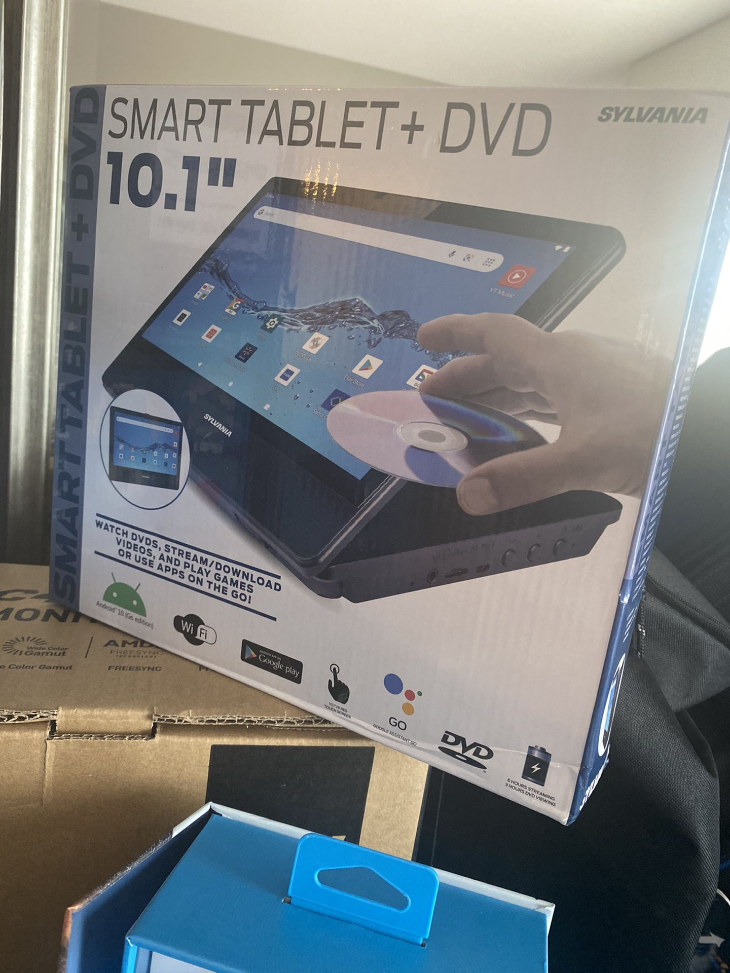 LAP DVD- Also A Tablet