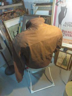 Men's Leather Bomber Thumbnail