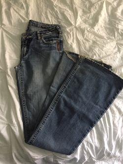 Extra-long Silver jeans (30x37) Thumbnail