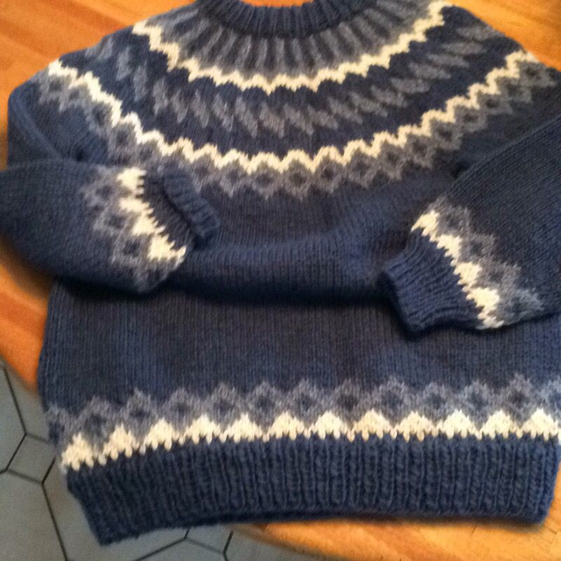 Hand made sweater