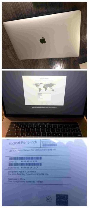 Apple MacBook Pro i9 for Sale in Nashville, TN