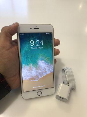 iPhone 6 Plus acuérdese que está desbloqueado para cualquier compañía for Sale in Denver, CO
