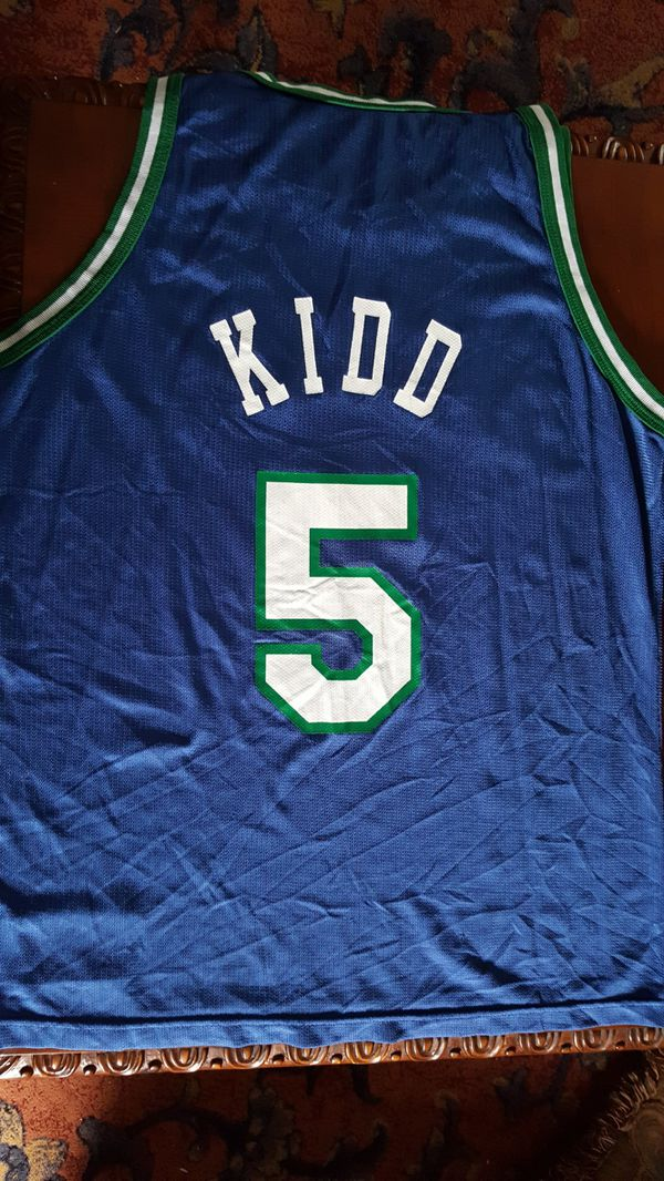 5b76a21b23d Vintage Jason Kidd 5 Dallas Mavericks Basketball Nba Champion Jersey size 44  Large for Sale in Garland, TX - OfferUp