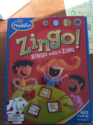 ZINGO! Kids game for Sale in Mountlake Terrace, WA