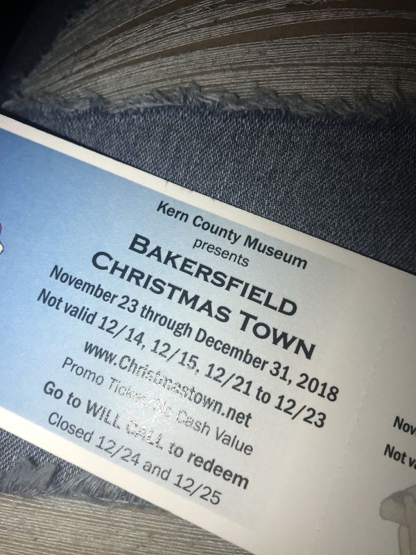Bakersfield Christmas town