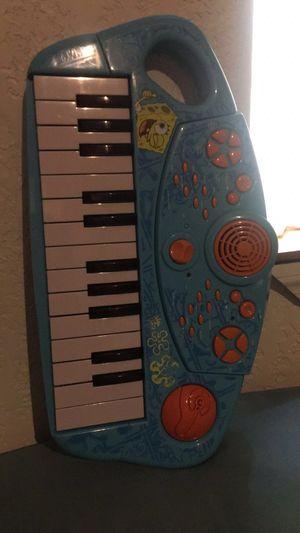 Spongebob musical keyboard for Sale in Melbourne, FL