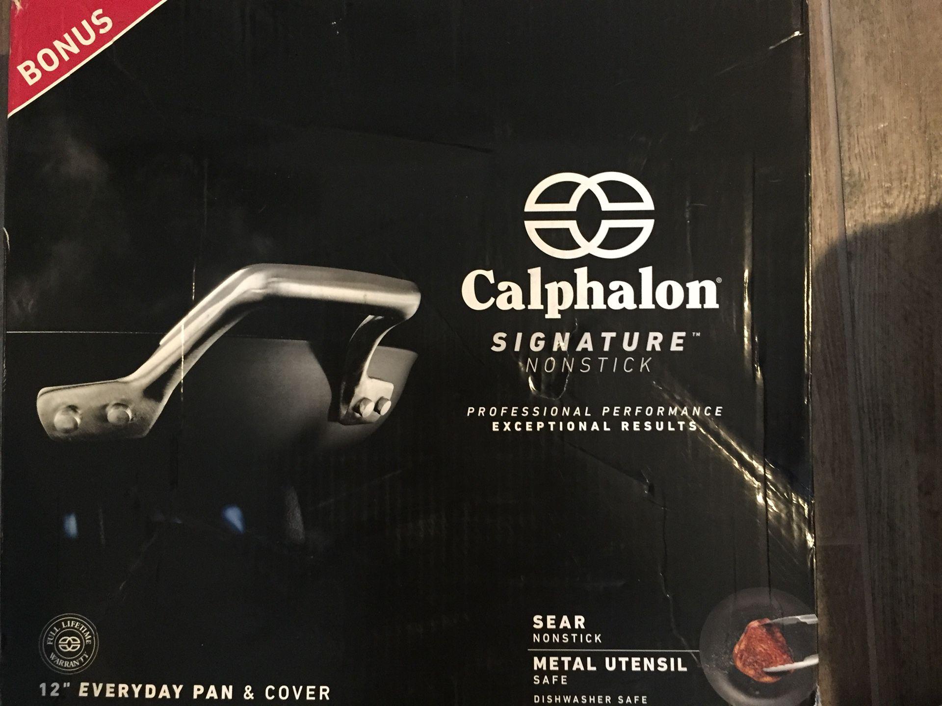 Calphalon hi end pan
