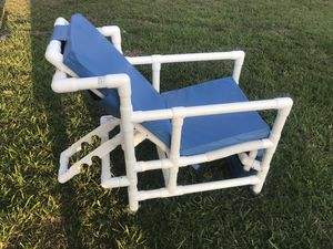 Pvc Pipe Pool Recliner Chair For In Pharr Tx