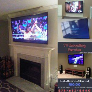 Atlantas Best TV Mounting for Sale in Atlanta, GA